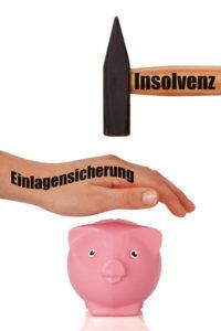 Einlagensicherung schützt bei Insolvenz