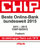 Testsiegel Postbank